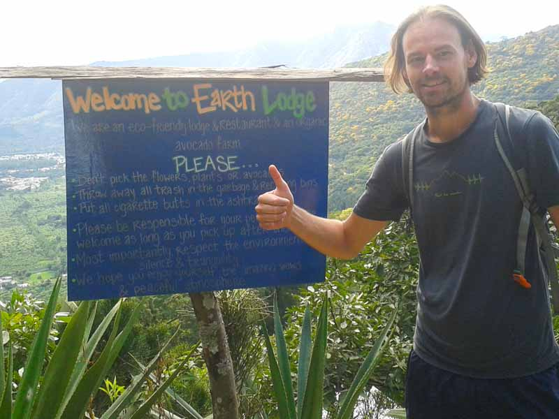 Besuch der Earth Lodge in Guatemala