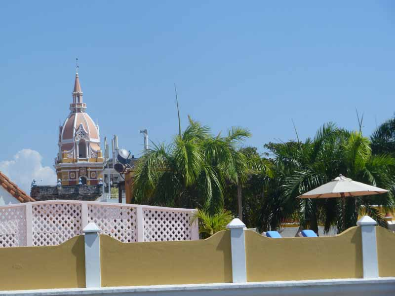 Kathedrale Cartagena Kolumbien
