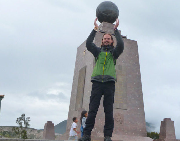 Mitad del Mundo Backpacking Ecuador